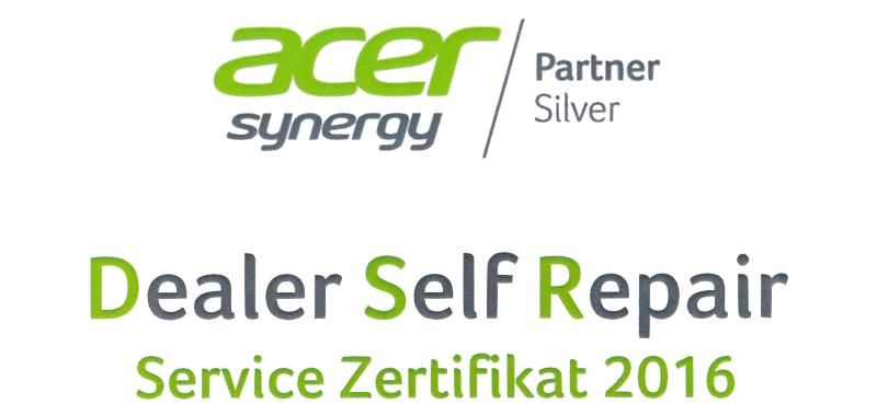 Acer DSR Zertifikat